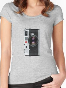 Leica M6 Women's Fitted Scoop T-Shirt