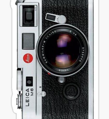 Leica M6 Sticker
