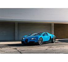 Transformers Bugatti Veyron Photographic Print