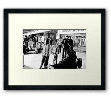 George Romero Between Shots Framed Print