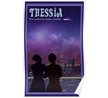 Mass Effect Thessia Travel Poster Fan Art Poster