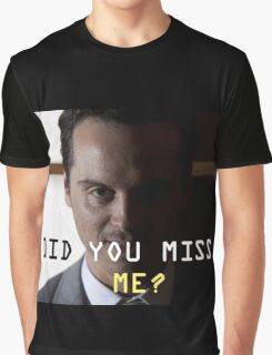 Jim Moriarty  Graphic T-Shirt