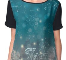 Flight Of The Fireflies Chiffon Top