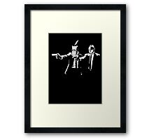 Does he look like a Casual? Framed Print