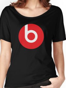 Beats | Logo | Black Background | High Quality!  Women's Relaxed Fit T-Shirt