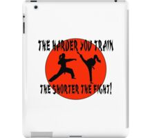 For Martial Art Champions. iPad Case/Skin