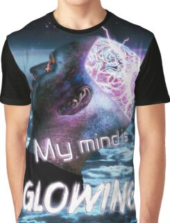 My Mind Is Glowing (Poster & T-Shirt Variation) Graphic T-Shirt