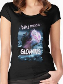 My Mind Is Glowing (Poster & T-Shirt Variation) Women's Fitted Scoop T-Shirt
