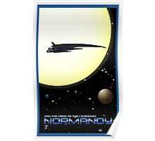 Mass Effect Normandy Travel Poster Fan Art Poster