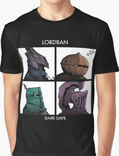 Lordran Dark Days Graphic T-Shirt