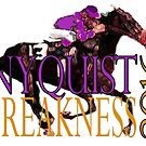 Nyquist Preakness 2016 Horse Racing t-shirts and gifts by Ginny Luttrell