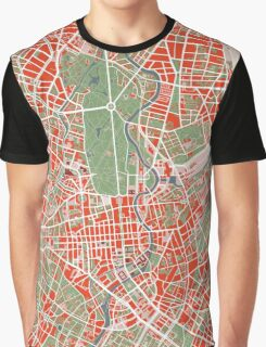 Berlin map classic Graphic T-Shirt