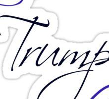 Love Trumps Hate Purple Logo Sticker