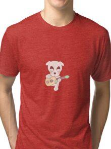 kk slider sticker Tri-blend T-Shirt