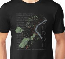 London city map Unisex T-Shirt