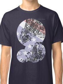 New York map classic Classic T-Shirt