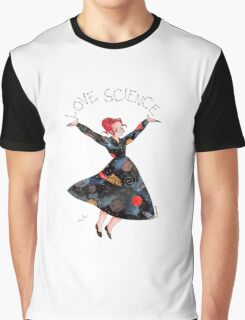 Miss Frizzle loves science Graphic T-Shirt