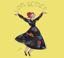 Miss Frizzle loves science One Piece - Short Sleeve