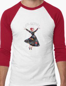 Miss Frizzle loves science Men's Baseball ¾ T-Shirt