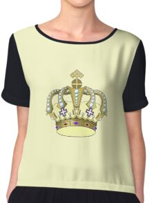 CRowN C4 Chiffon Top