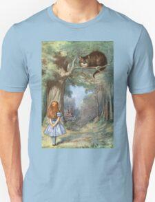 Vintage famous art - Alice In Wonderland - The Cheshire Cat Unisex T-Shirt