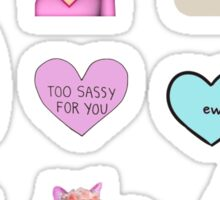 Sassy Sticker Set Sticker