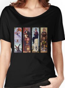 Haunted mansion all Characthers Women's Relaxed Fit T-Shirt