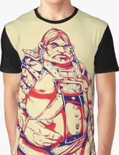 A Warriors Heart Graphic T-Shirt