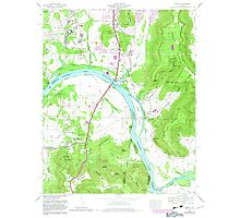 USGS TOPO Map Alabama AL Farley 303820 1964 24000 Photographic Print
