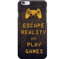 Play games. iPhone Case/Skin