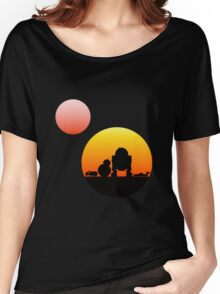 When Two Worlds Collide Women's Relaxed Fit T-Shirt