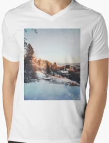 Trondheim. Mens V-Neck T-Shirt