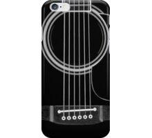 black acoustic iPhone Case/Skin