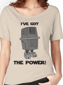 I've Got the Power Droid Women's Relaxed Fit T-Shirt