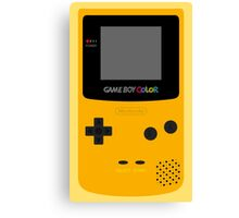Game Boy Yellow Canvas Print
