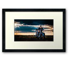 Bikescape Framed Print