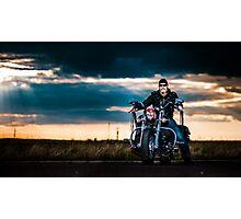 Bikescape Photographic Print
