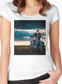 Bikescape Women's Fitted Scoop T-Shirt