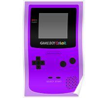 Game Boy Violet Poster