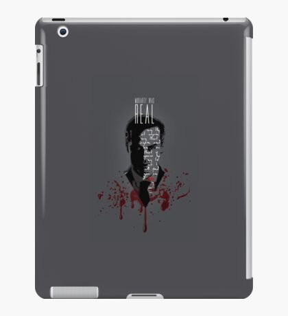 Moriarty Was Real (w/ text) iPad Case/Skin