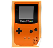 Game Boy Orange Poster