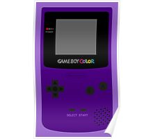 Game Boy Indigo Poster