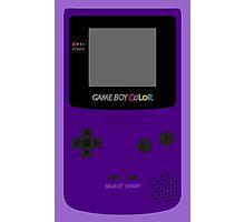Game Boy Indigo Photographic Print