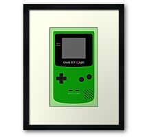 Game Boy Green Framed Print
