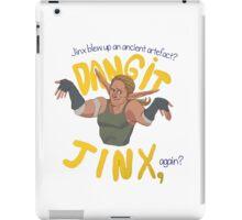 Dangit, Jinx iPad Case/Skin