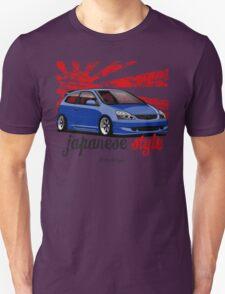 Civic VII (blue) Unisex T-Shirt