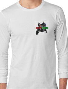 Skeggy Cruiser Motif Long Sleeve T-Shirt