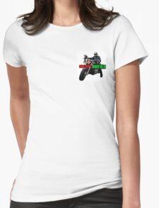 Skeggy Cruiser Motif Womens Fitted T-Shirt