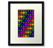 Gameboy Colors Framed Print