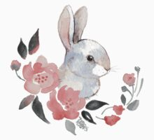 White rabbit  Baby Tee